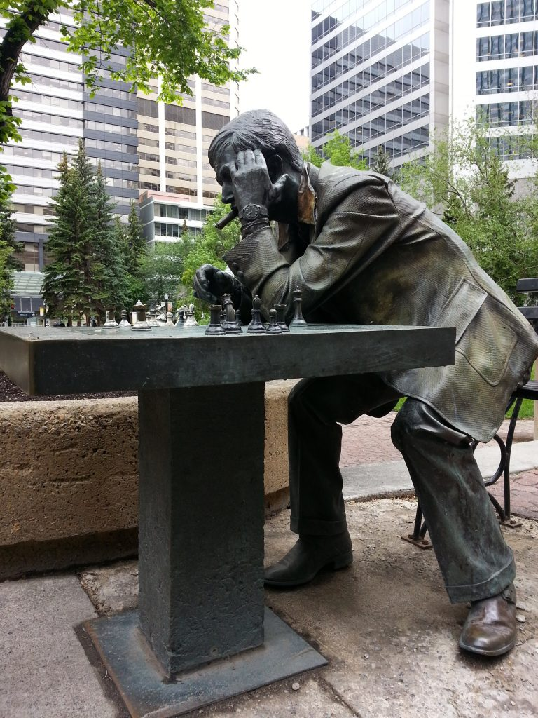 2014 06-16 Calgary Public Art Chess Master