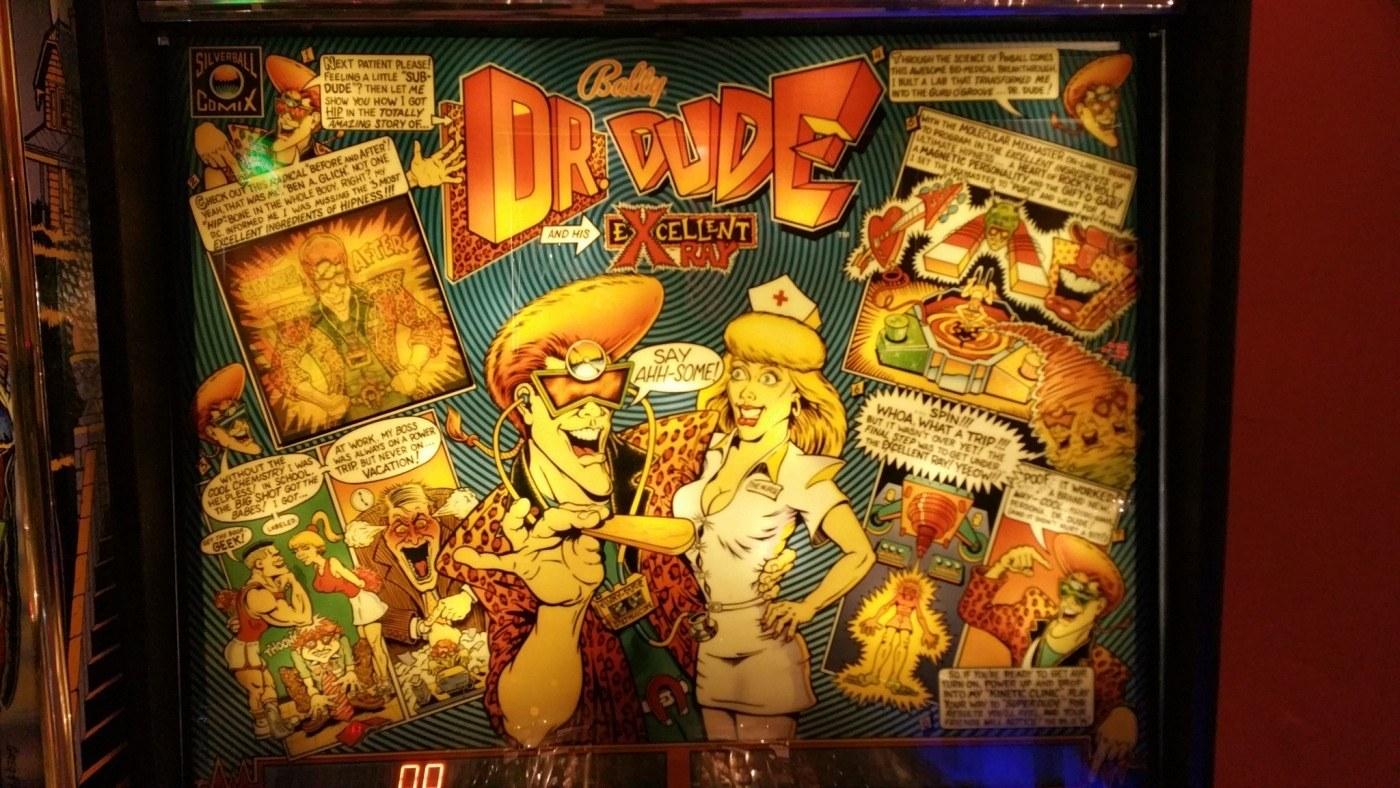 Dr. Dood pinball