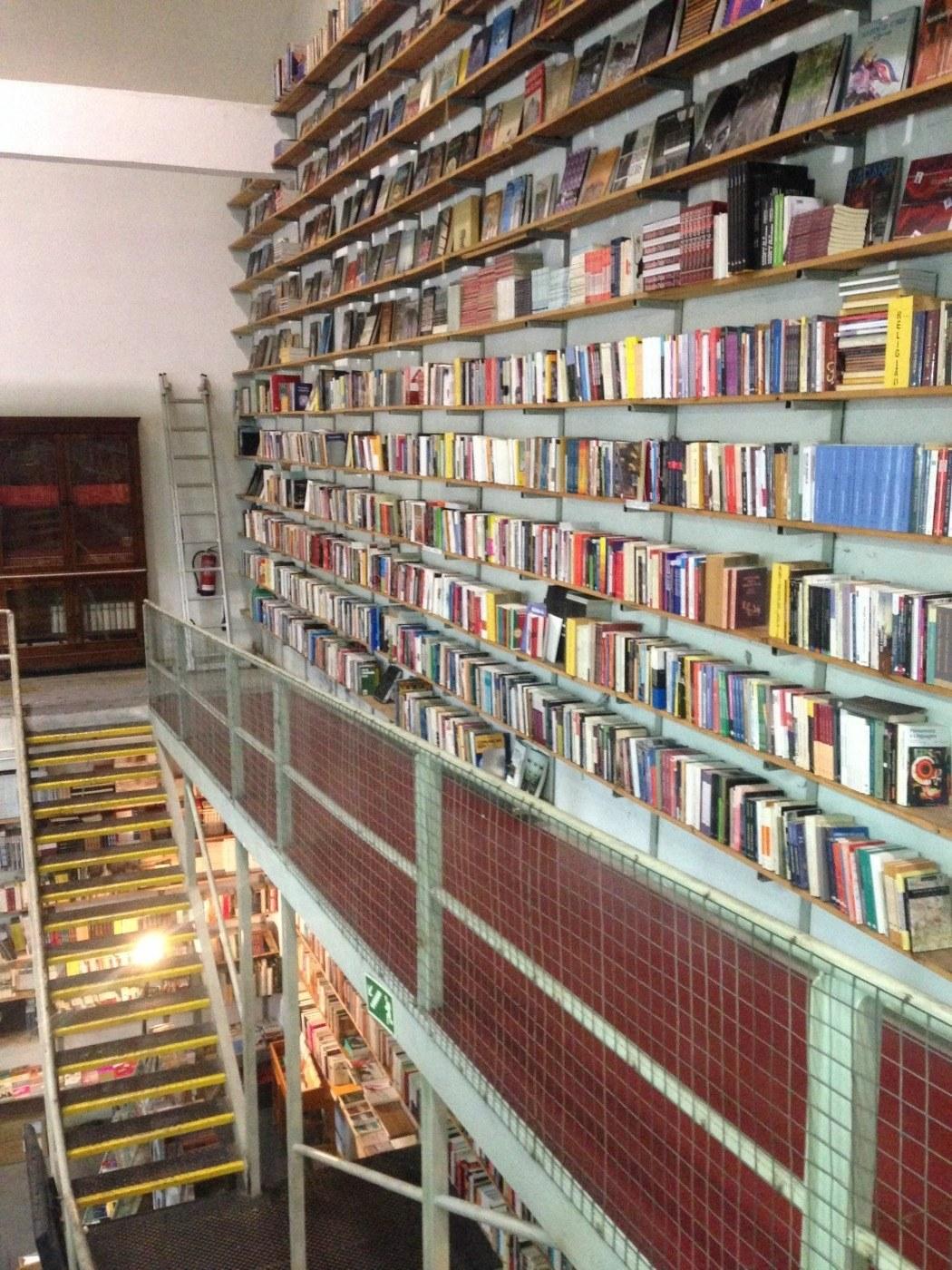 Livraria Ler Devagar bookstore Lisbon