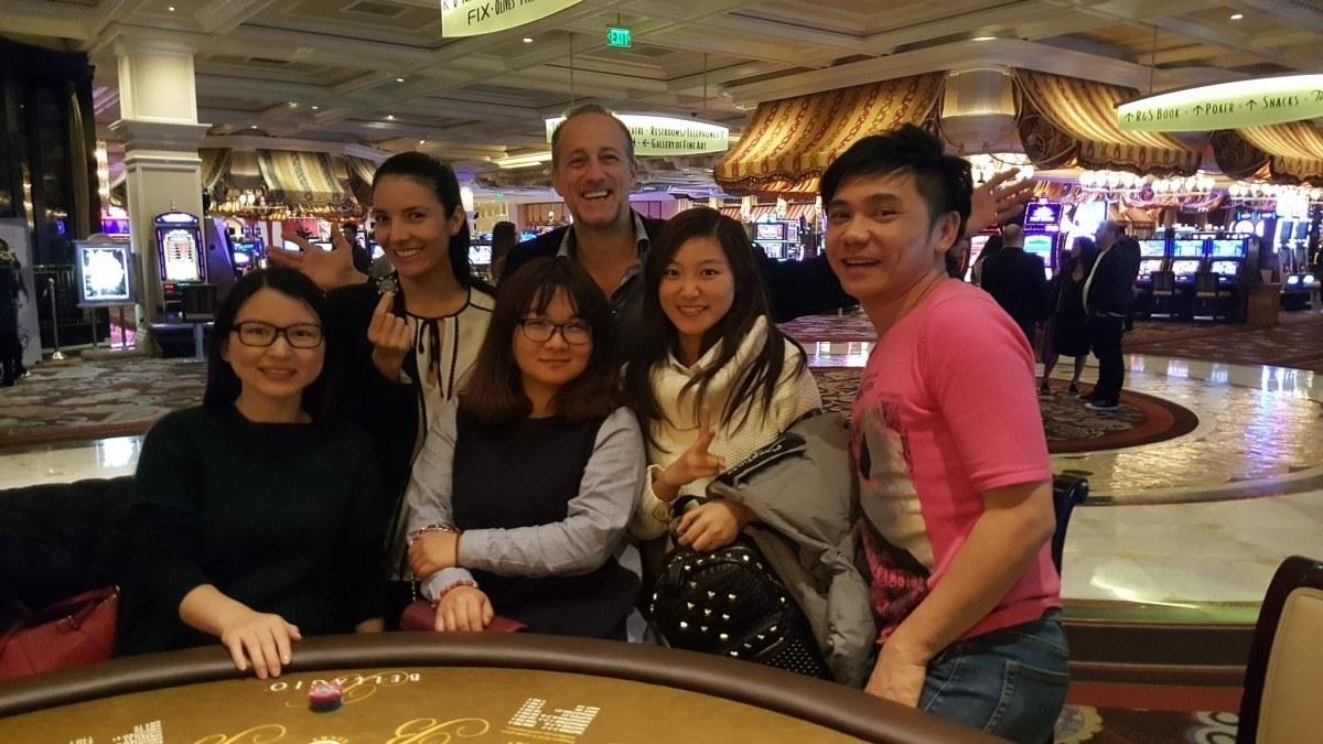 CES 2016 blackjack friends