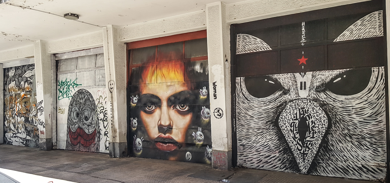 Athens Surprising Street Art Scene Entrepreneur Social Club visiting Greece