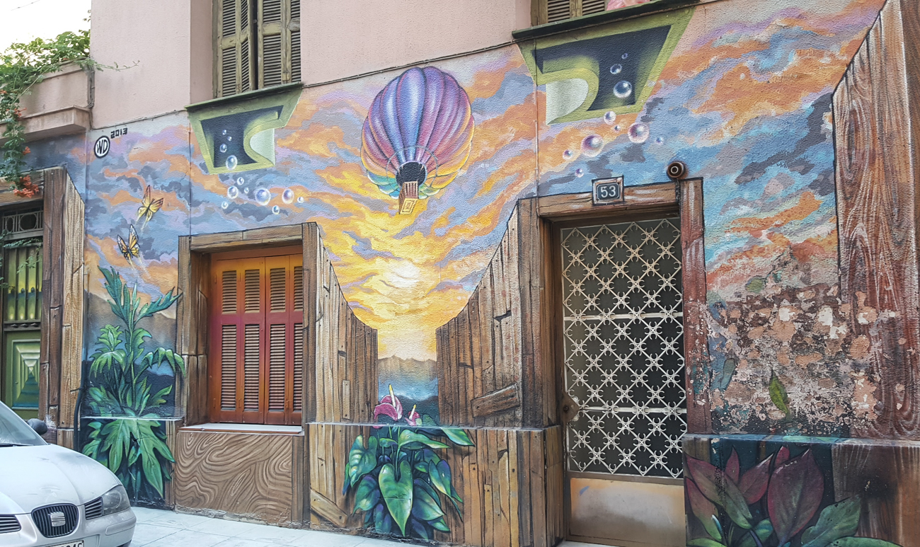 Athens Surprising Street Art Scene with the Entrepreneur Social Club
