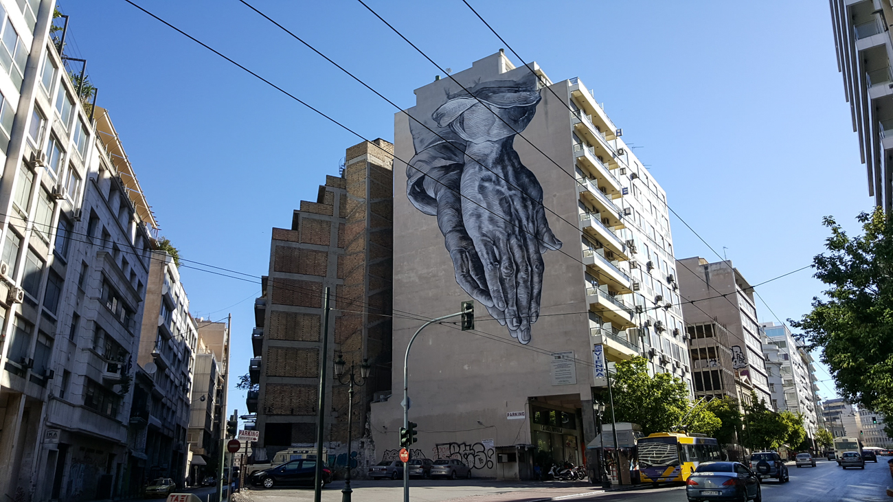 Athens Surprising Street Art Scene with Entrepreneur Social Club world traveler