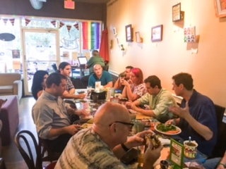 Entrepreneur Social Club in downtown St. Pete at Community Cafe