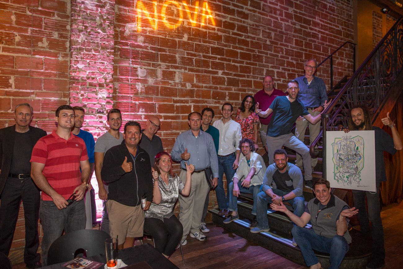 Entrepreneur Social Club in St. Pete at historic wedding and event venue NOVA 535 we discover that our Successes are Shaken and Stirred