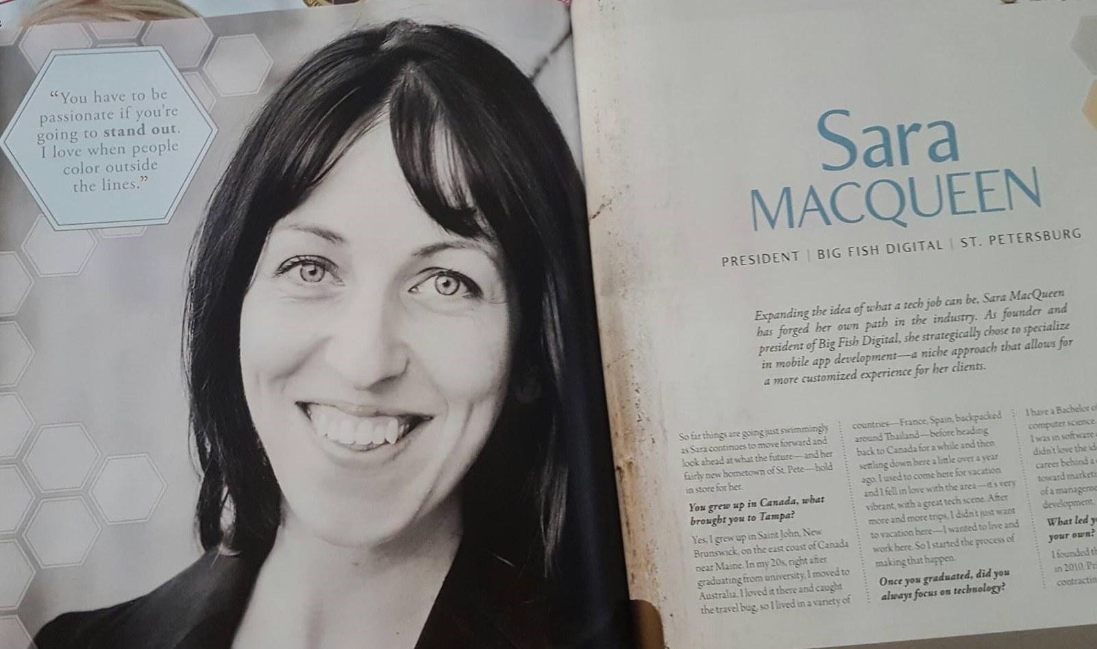 Sara Macqueen Entrepreneur Social Club