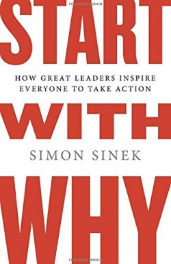 Start with Why! Book cover