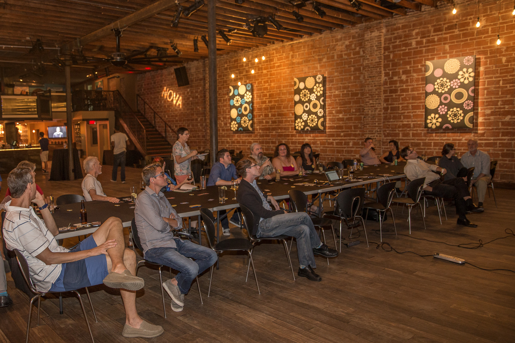 Swarm.City Boardwalk Release for Blockchain Enabled Commerce discussed here at Entrepreneur Social Club in DTSP at historic wedding and event venue NOVA 535 with Cate Colgan #pioneer