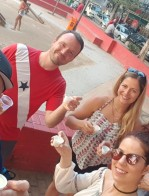 Michael S Novilla enjoys the Eat Rio Food Tour with Tom Le Mesurier