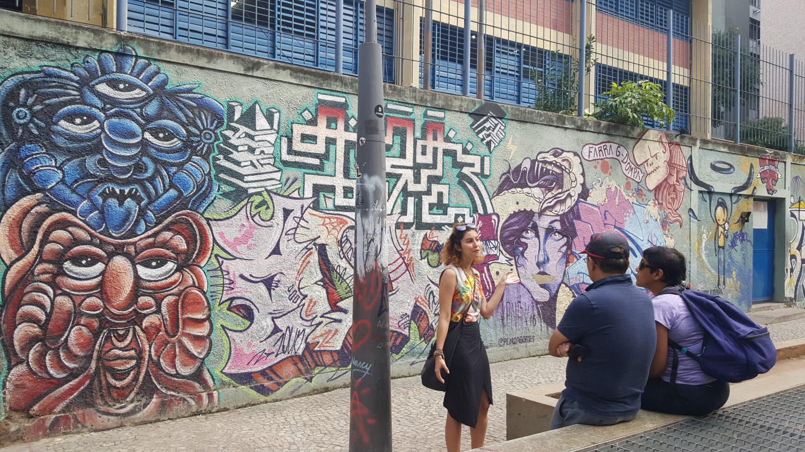 Rio Street Art Tour with Nina