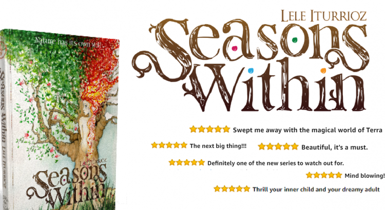Lele Iturrioz Author of Seasons Within book covers and reviews