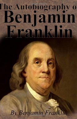 Autobiography of Ben Franklin book cover image