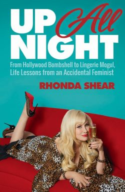 Up All Night By Rhonda Shear Book Cover Image