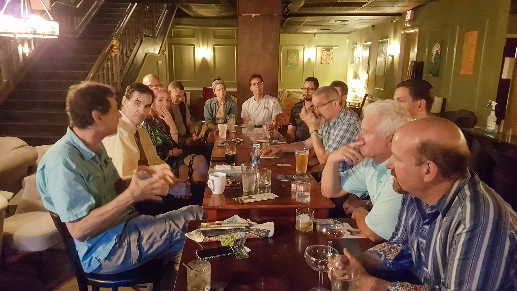 A Happier Healthier Entrepreneur Social Club is Subcentral at Iberian Rooster Downtown St. Pete