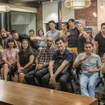 Entrepreneur Social enjoys the Sweet Chaos of Hanoi Vietnam on Thursday May 31, 2018 with ESC founder Michael Scott Novilla