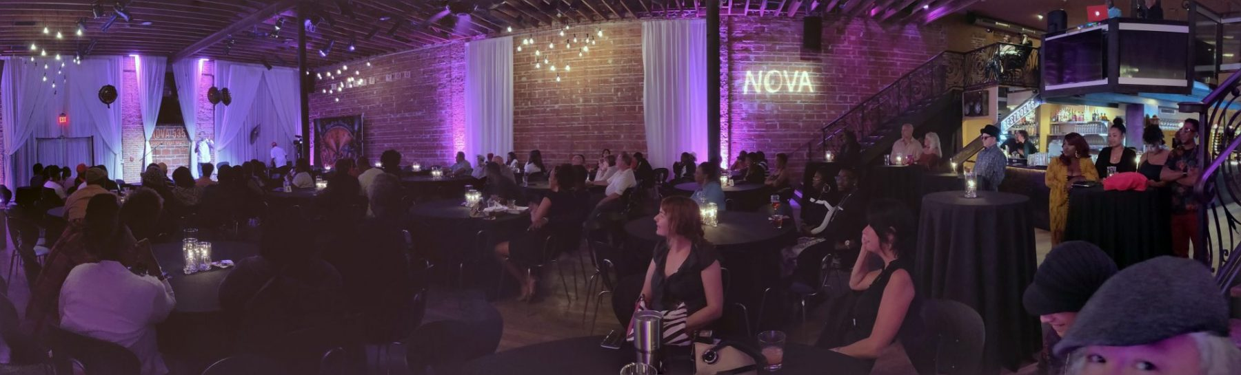 2019 03-21 ESC COMEDY NIGHT panoramic NOVA 535 facing north