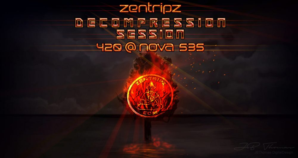 2019 04-20 Dood Zentripz Decompression Session 420 at NOVA 535 downtown St. Pete