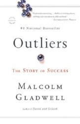 Outliers The Story of Success by Malcolm Gladwell book cover
