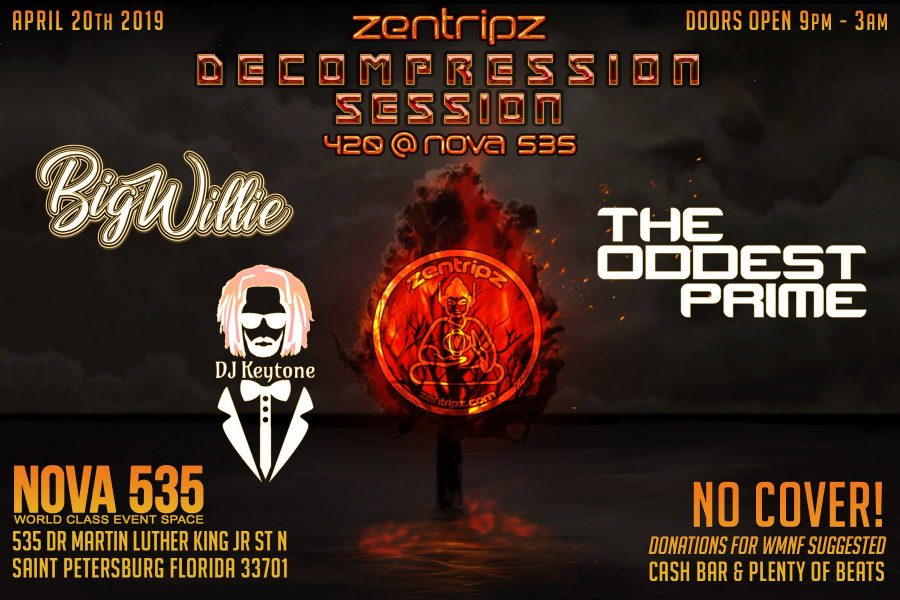 2019 04-20 Dood Zentrips 420 Party at NOVA 535 downtown St. Pete - flyer