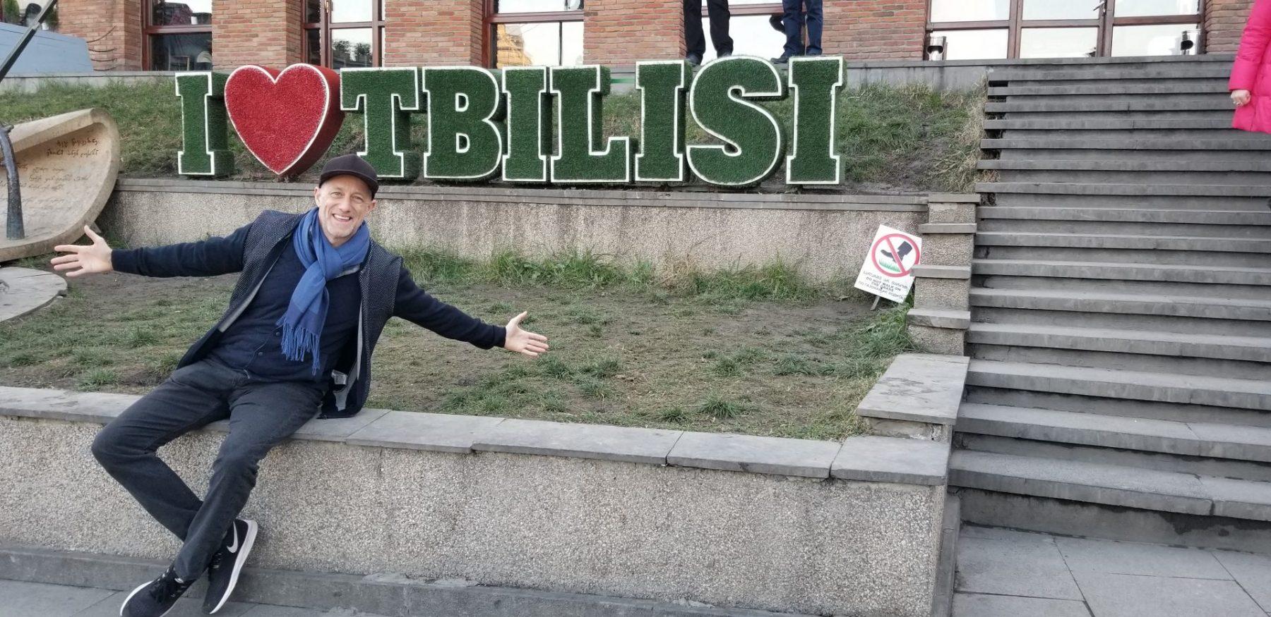 MIchael Scott Novilla in Tbilisi