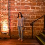 An Insightfuli Maria Garces hosting the Entrepreneur Social Club at historic downtown St. Pete venue NOVA 535