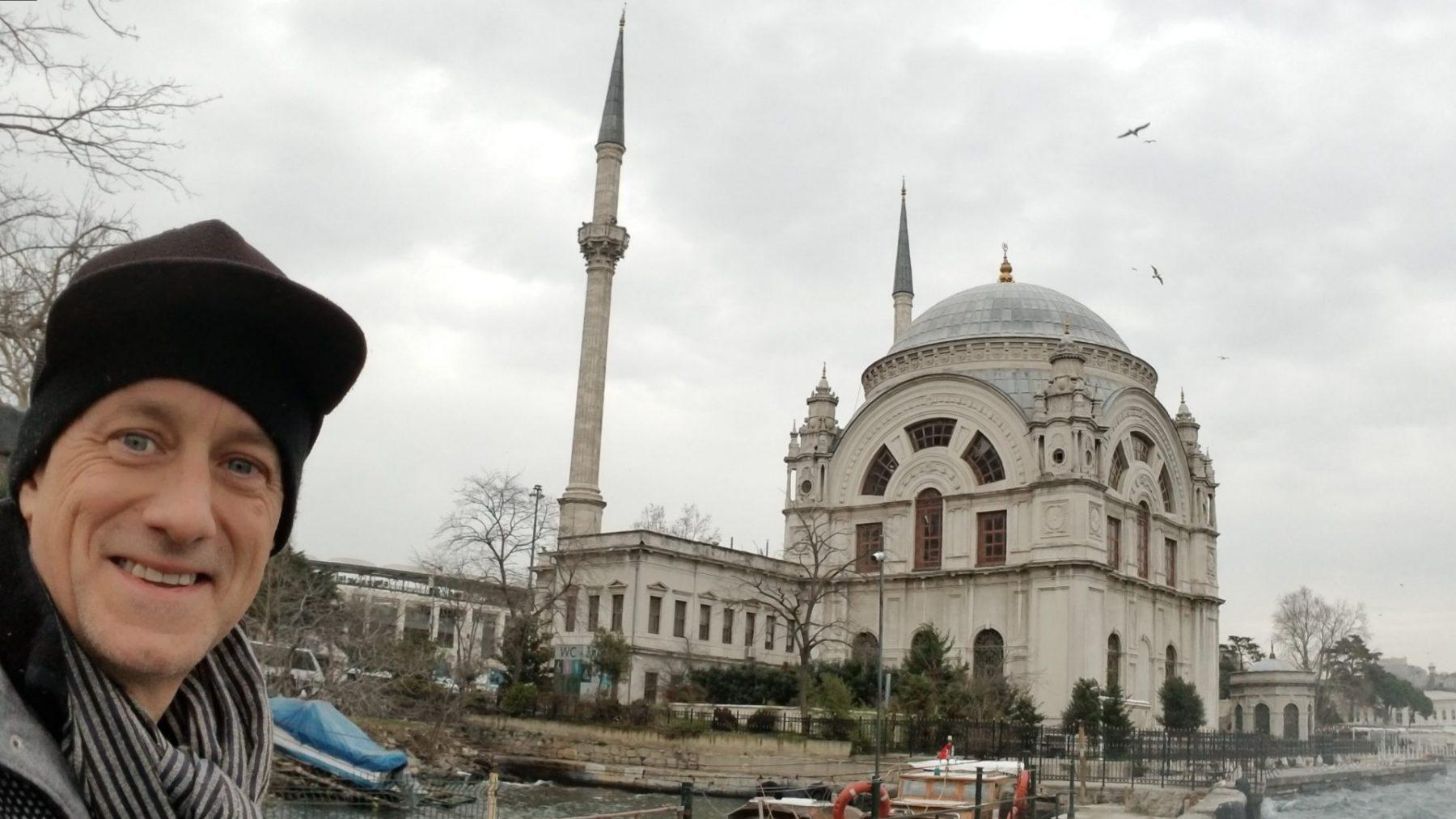 Michael Scott Novilla 2019 01-24 Istanbul Dolmabahce Palace