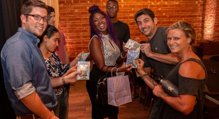 Niajae shares her abundance of ProductiviTEA with the Entrepreneur Social Club at historic downtown St. Pete venue NOVA 535