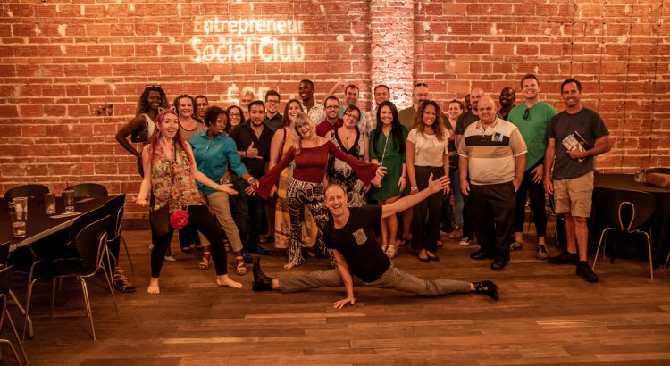 Thursday, September 19, 2019, the Entrepreneur Social Club discusses transitioning from an Analog Reality to Digital TV at downtown St. Pete venue NOVA 535