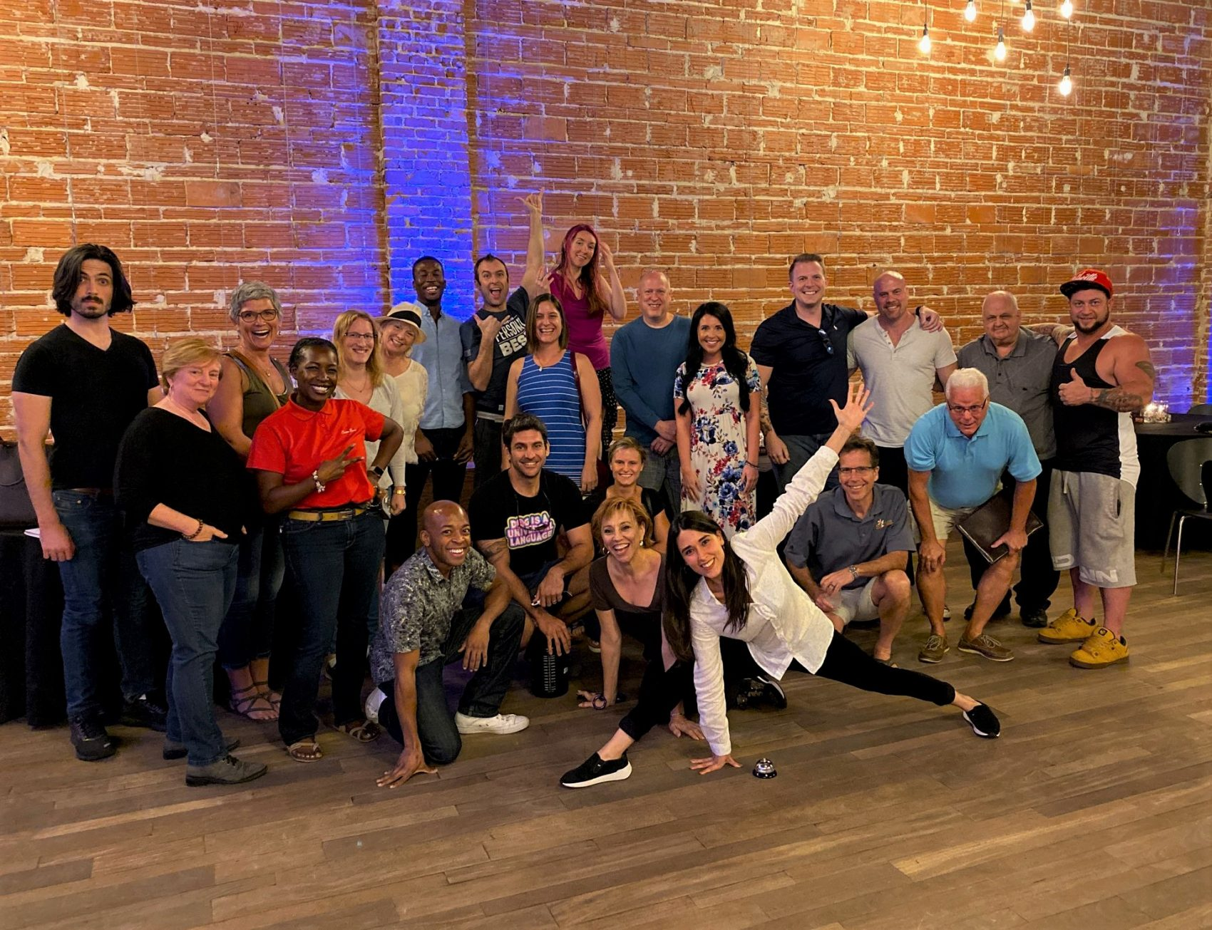 2019 10-03 ESC hosted by Maria Garces group photo