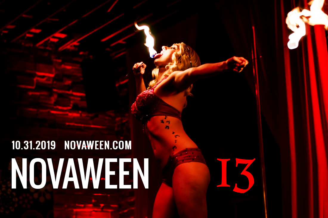 2019 10-31 Novaween 13 at historic downtown St. Pete venue NOVA 535