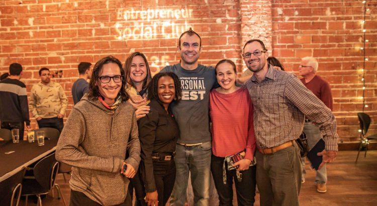 Happy 2020 Entrepreneur Social Club at historic downtown St. Pete venue NOVA 535