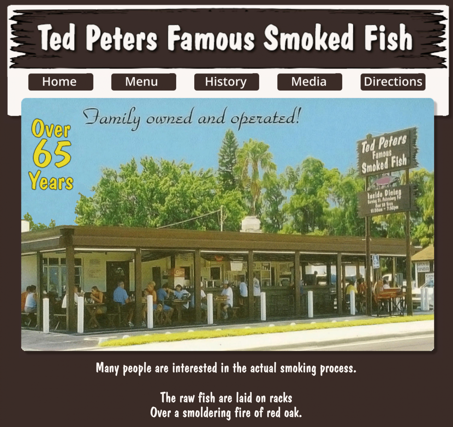 Ted Peter's Famous Smoked Fish